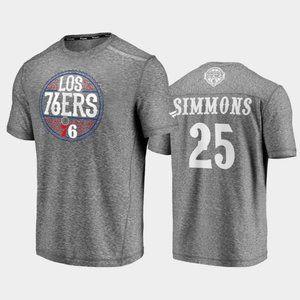 Philadelphia 76ers Ben Simmons Gray T-Shirt